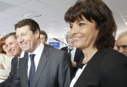 Christian Estrosi et Dominique Estrosi-Sassone en 2014