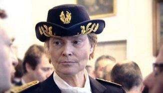 La sous-préfète Marie-Christine Mallemanche