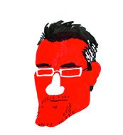 Thierry Chavant dessiné par Hervé Bourhis