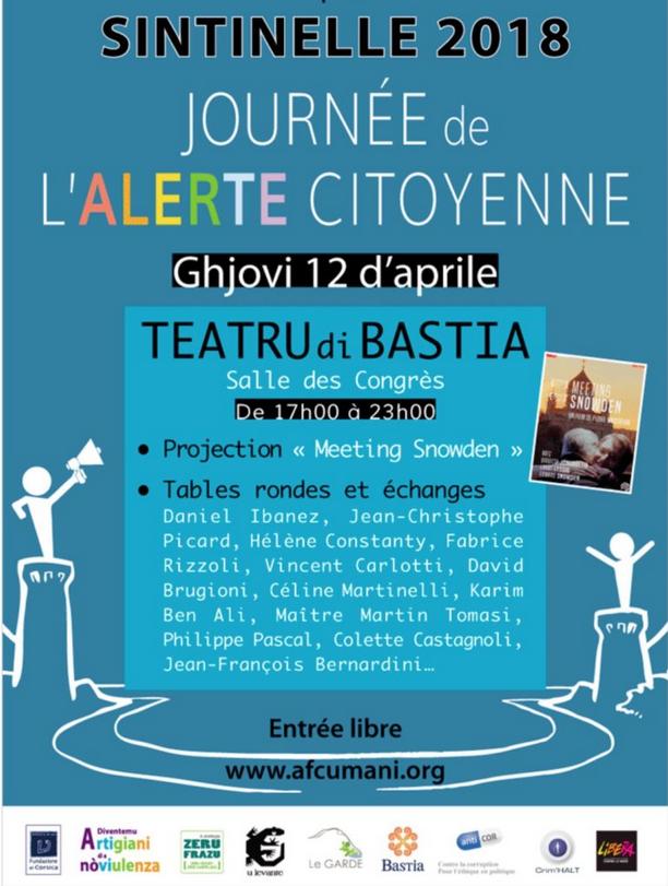 Sintinelle Bastia 12 avril 2018